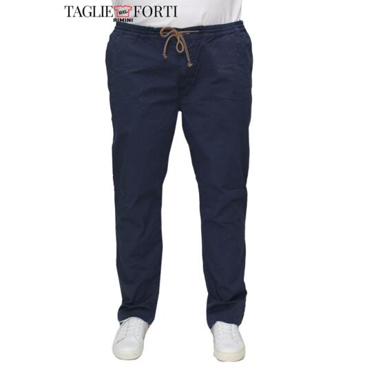 Maxfort. Trousers men's plus size article Giotto blue