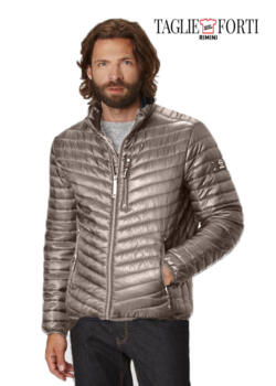 Redpoint. Jacket men's plus size walker Pearl grey
